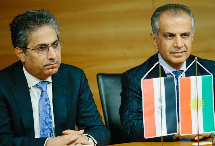 Vorsitzender des Kurdischen Investment Boards besucht Österreich und Slowakei