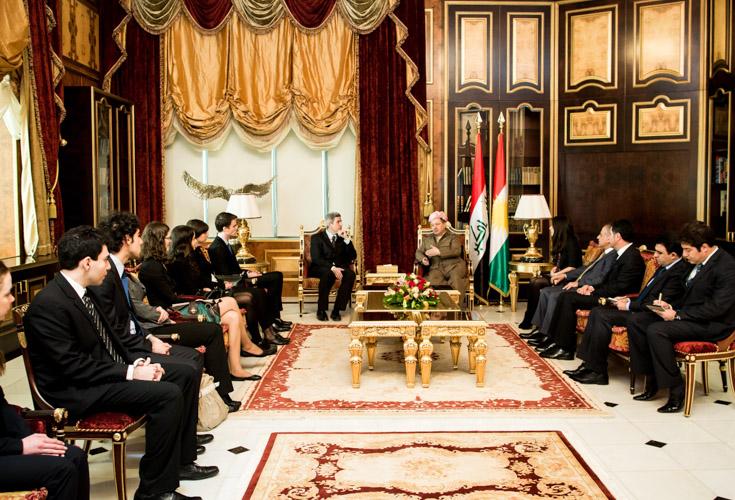 Studienreise der Diplomatischen Akademie in die Region Kurdistan