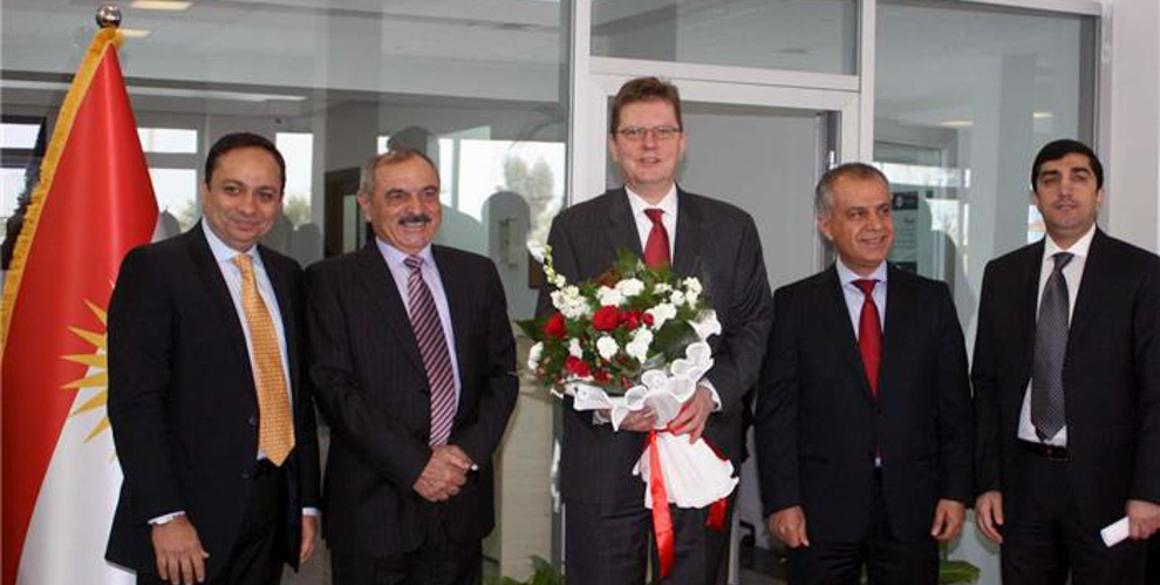 Österreichische Visaannahmestelle in Erbil eröffnet