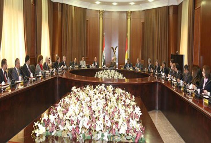 Präsident Barzani organisierte das jährliche Zusammentreffen des diplomatischen Korps