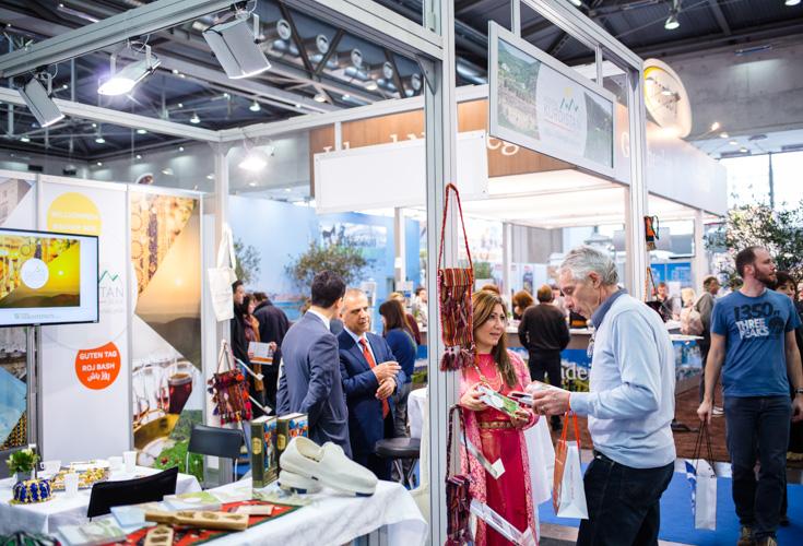 Region Kurdistan nimmt an Ferienmesse Wien 2014 teil
