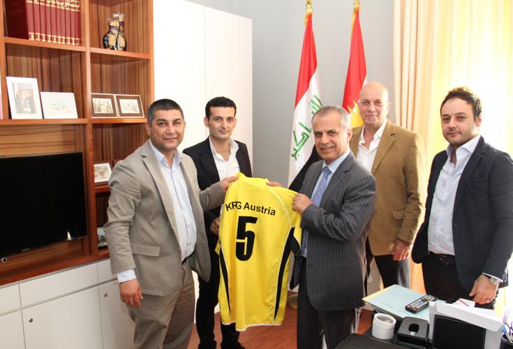 KRG Österreich feiert 5-jähriges Bestehen des FC Newroz