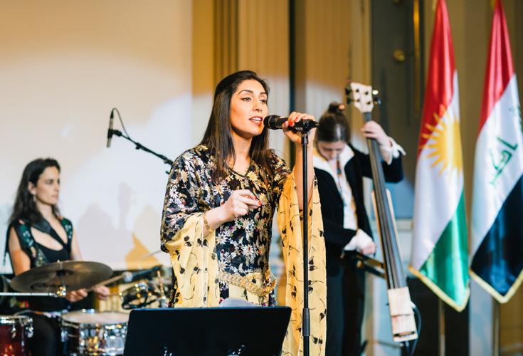 KRG Österreich gibt Newroz-Empfang 2014