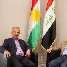 Interview: Aram Saleh Osman, Leiter der lokalen Wahlkommission für die irakischen Parlamentswahlen in Österreich