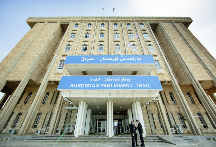 Abgeordnete des Parlaments Kurdistan-Irak wählen Parlamentspräsidenten