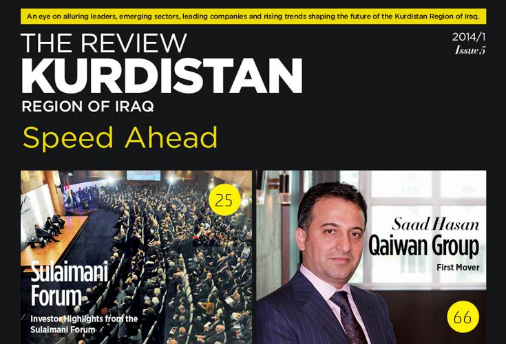 Fünfte Ausgabe der Kurdistan Review
