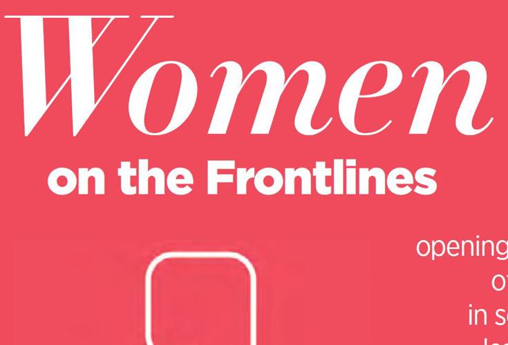 Frauen an vorderster Stelle