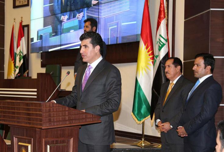 Rede von Premierminister Barzani anlässlich der Angelobung des achten Kabinetts