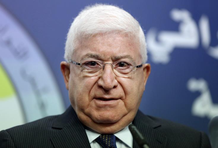 Kurde Fuad Massoum zum neuen Präsidenten des Irak gewählt