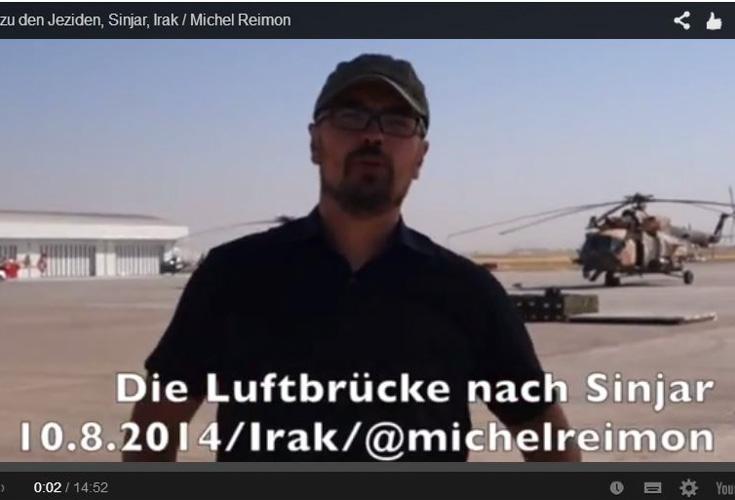 Luftbrücke nach Sinjar – Bericht von MEP Michel Reimon