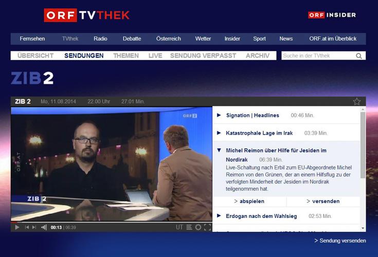 Michel Reimon im ZIB 2 Interview mit Armin Wolf