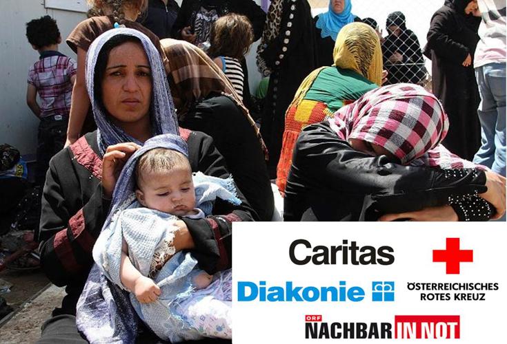 Spendenaufruf: Helfen auch Sie den mehr als eineinhalb Millionen Flüchtlingen in der Region Kurdistan