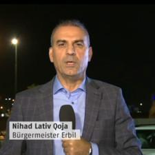 Bürgermeister von Erbil fordert internationale Unterstützung für Region Kurdistan im ZIB2 Interview