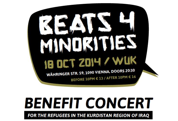 Benefiz Konzert für die Flüchtlinge in der Region Kurdistan-Irak