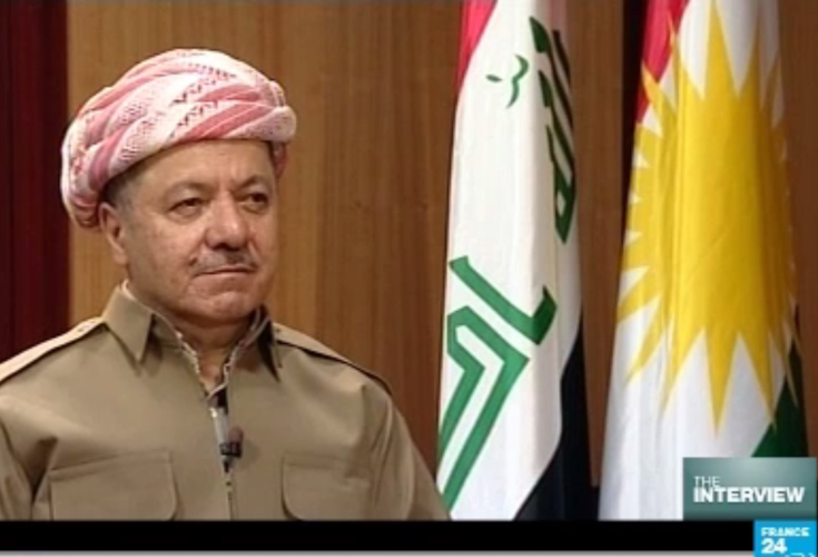 France24 interview with President Barzani on the current state of the Kurdistan Region
