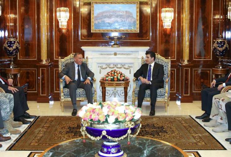 Irakischer Verteidigungsminister besucht Region Kurdistan