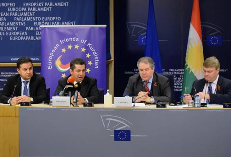 Vertreter der Region Kurdistan plädiert für mehr EU-Unterstützung