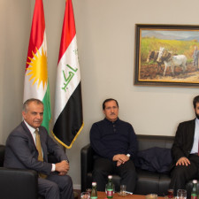 Representatives of the Kurdistan Regional Parliament visit KRG Representation in Austria