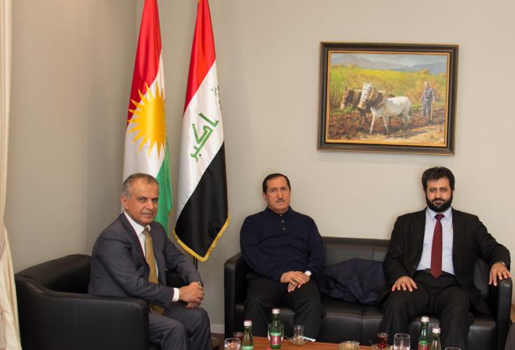 Vertreter des Parlaments der Region Kurdistan zu Besuch bei KRG Repräsentanz in Österreich