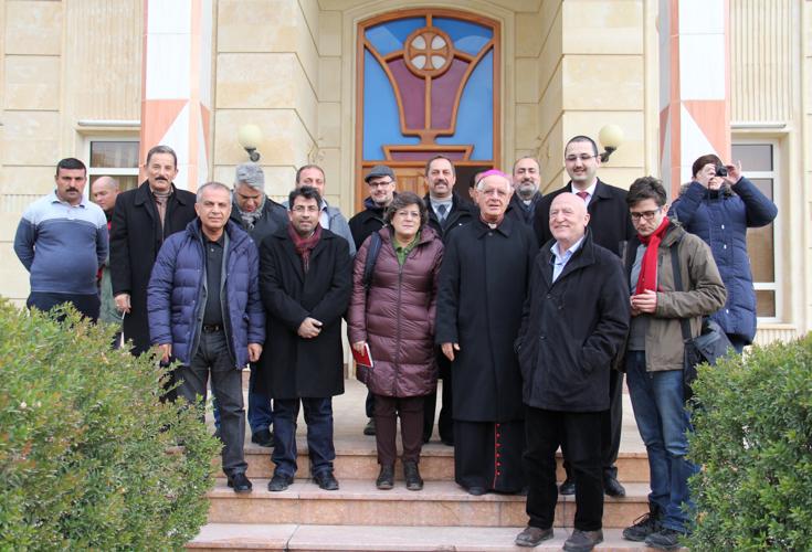 EU Delegation macht sich Bild von der Flüchtlingssituation in Kurdistan