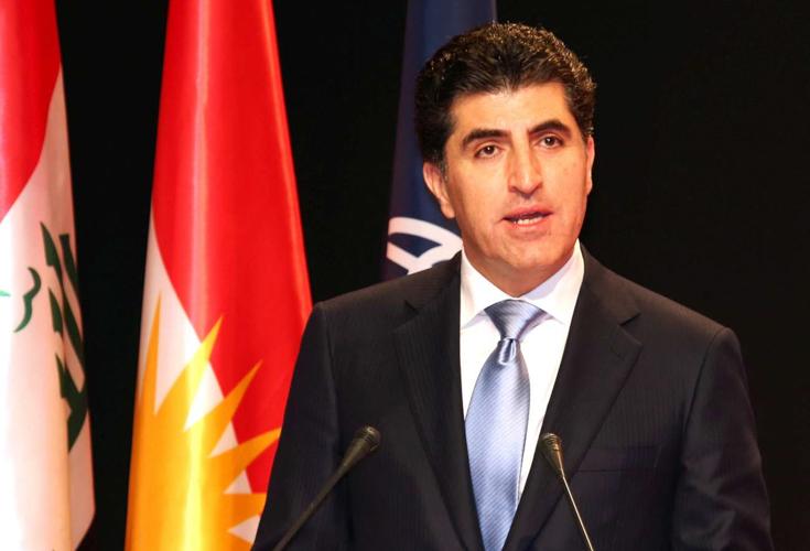 Premierminister Barzani spricht bei KRG-Weltbank Konferenz über Flüchtlinge und Binnenvertriebene