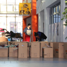 Successful clothing drive for refugees and IDPs in the Kurdistan Region
