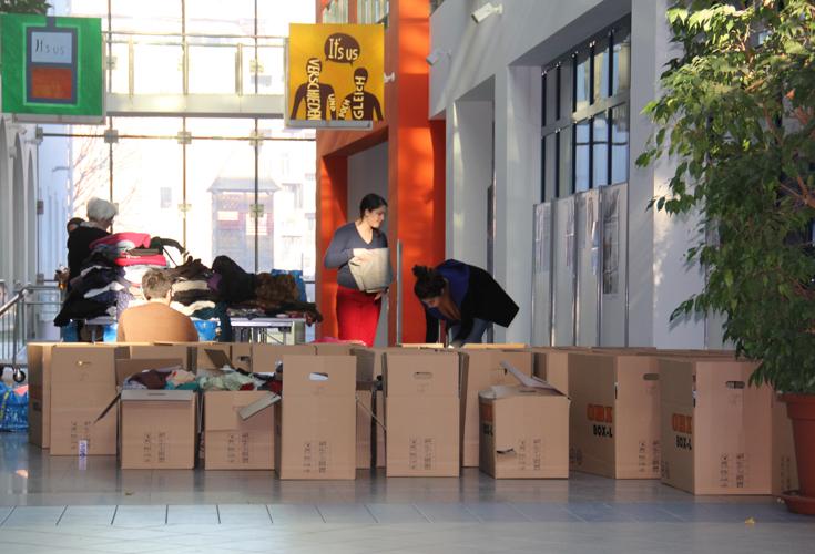 Erfolgreiche Spendensammlung für Flüchtlinge in der Region Kurdistan