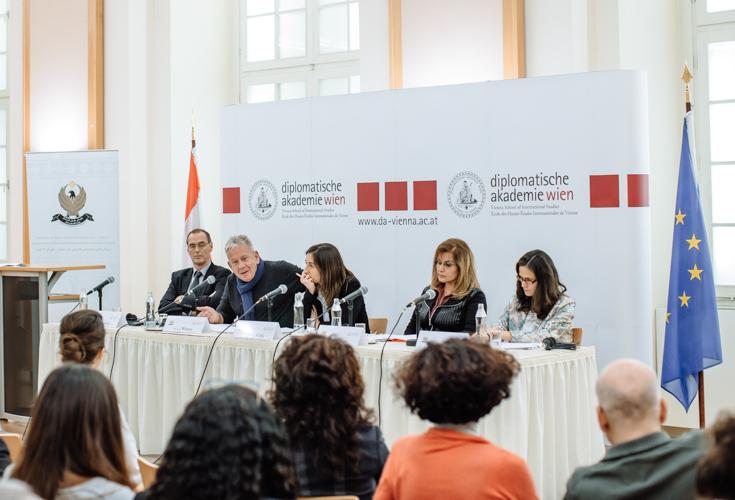 Podiumsdiskussion in Wien zum Thema Völkermord in Kurdistan-Irak