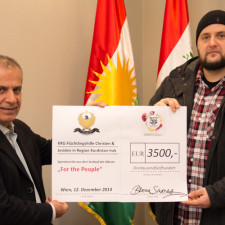 Jakarta Records donates 3.500€ for refugees in Kurdistan-Iraq