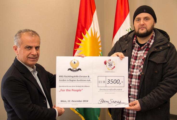Jakarta Records spendet 3.500€ für Flüchtlinge in Kurdistan-Irak