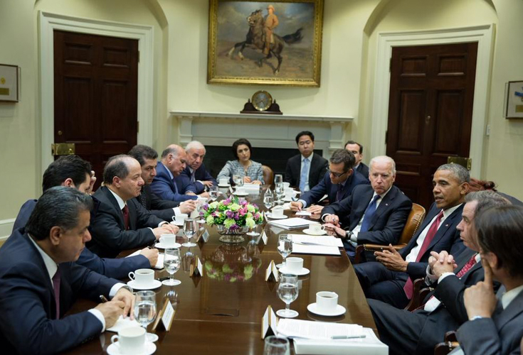 Pressestimmen zu Präsident Barzanis Besuch in den USA