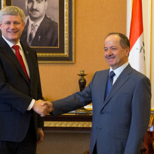 President Barzani receives Canadian Prime Minister
