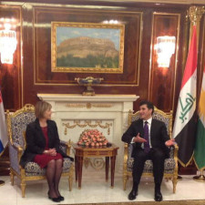 Prime Minister Barzani receives Croatian Republic's Deputy Prime Minister