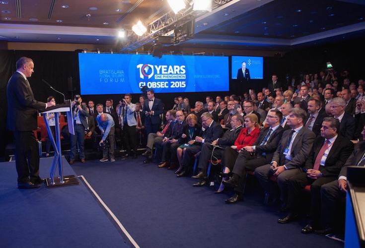 Minister Falah Mustafa vertritt KRG beim Global Security Forum in der Slowakei