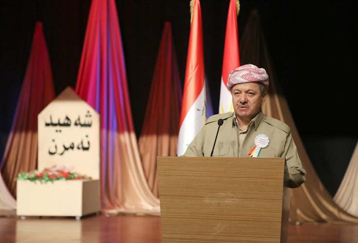 Anniversary Commemoration of the IS-Attack against Sinjar