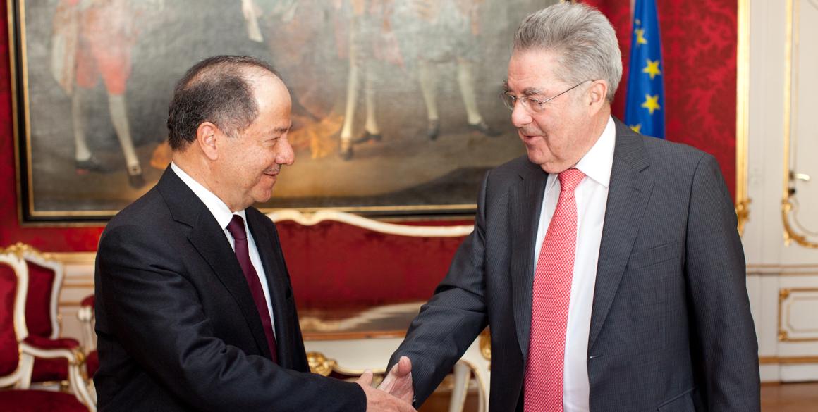 Präsident Barzani trifft Präsident Fischer in Wien
