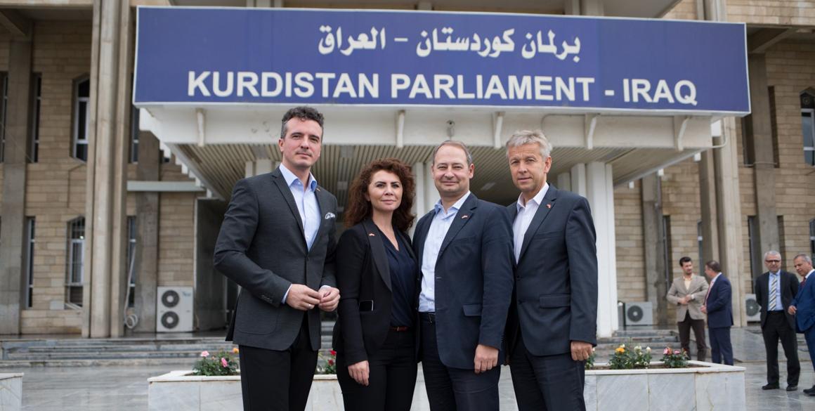 Storify-Bericht der Delegationsreise österreichischer Parlamentarier nach Kurdistan