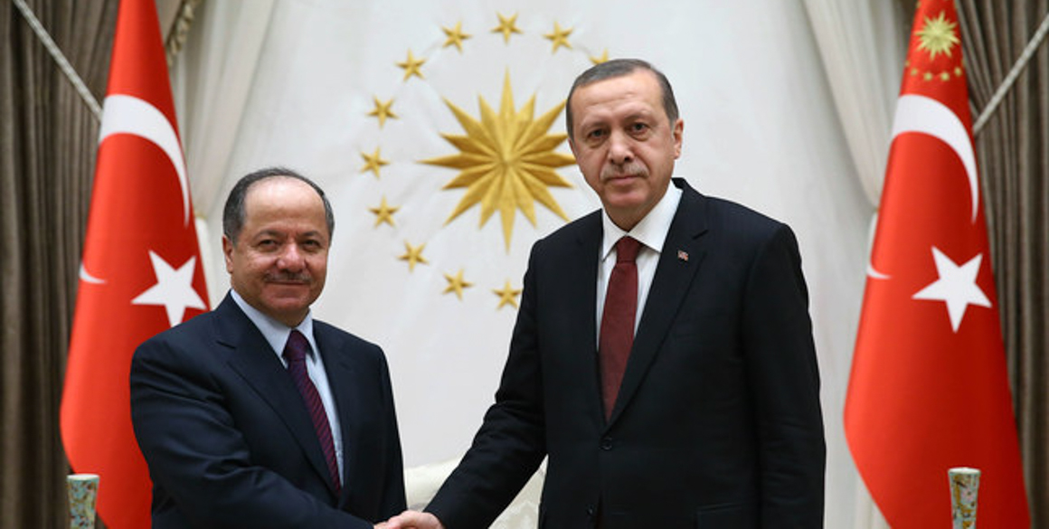 President Barzani Meets with Turkey's President and Prime Minister