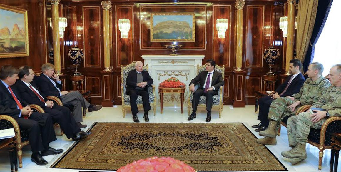 Führende US Senatoren bekräftigen Unterstützung für die Region Kurdistan