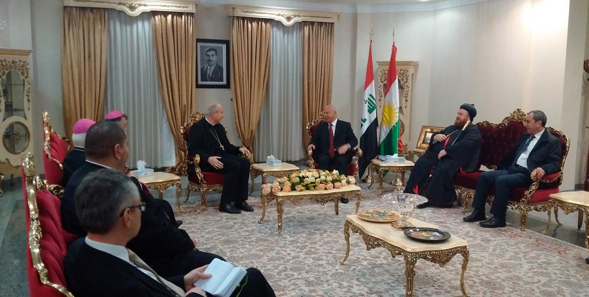 Storify Bericht: Kardinal Schönborn in der Region Kurdistan