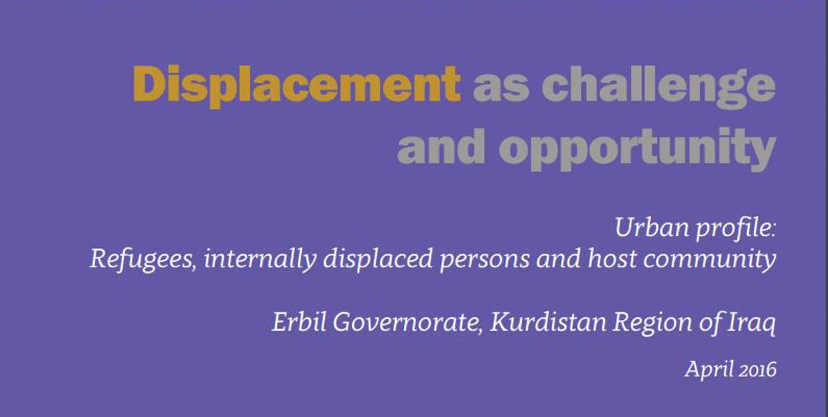 Neuer UNHCR Bericht zu Vertriebenen in Region Kurdistan