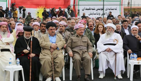 Präsident Barzanis Rede in Baschiqa
