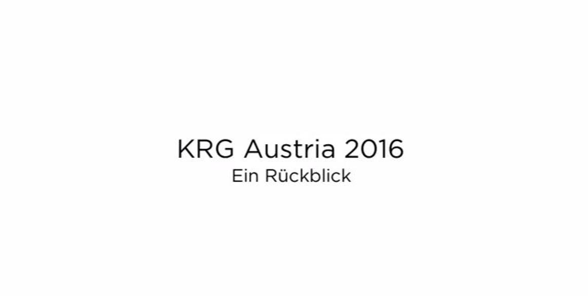 KRG Austria Jahresrückblick 2016