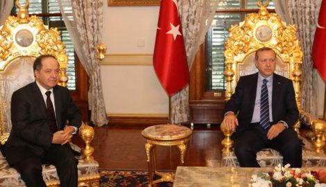 Präsident Barzani trifft Präsident Erdogan in der Türkei