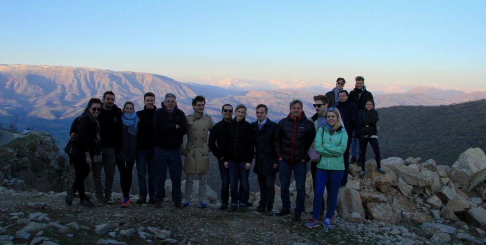 Students of the Diplomatic Academy Vienna visit the Kurdistan Region of Iraq