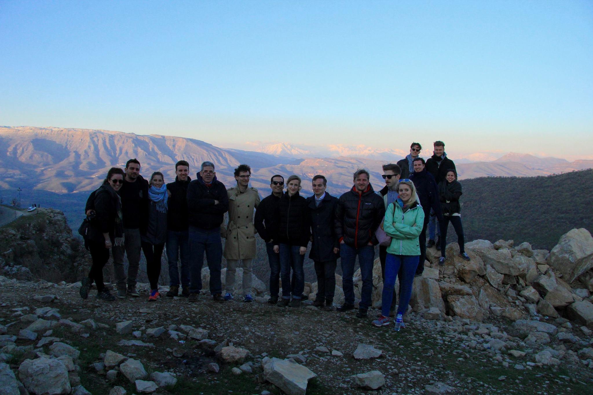 Studentengruppe der Diplomatischen Akademie Wien besucht die Region Kurdistan-Irak