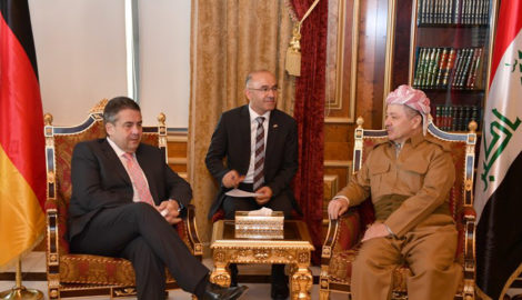 President Barzani Receives German Vice Chancellor