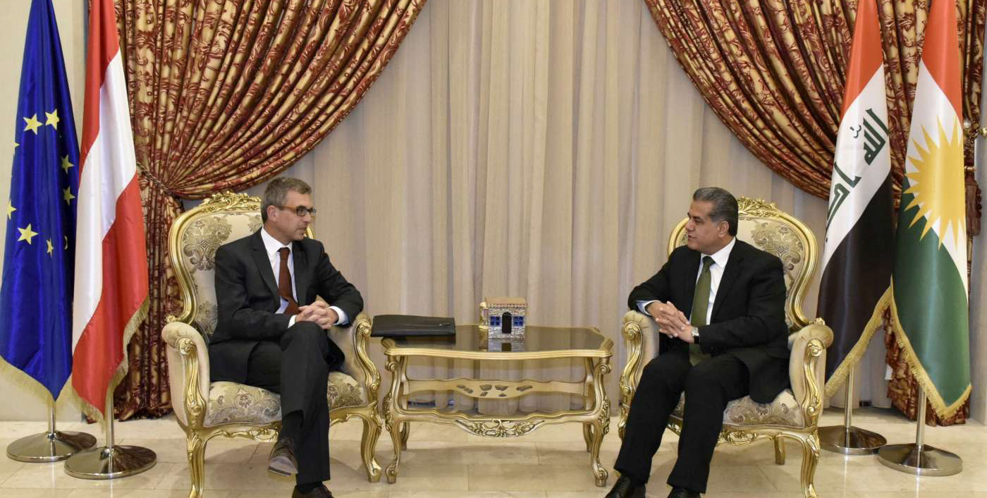 Head of DFR and Austrian Ambassador Discuss Bilateral Ties