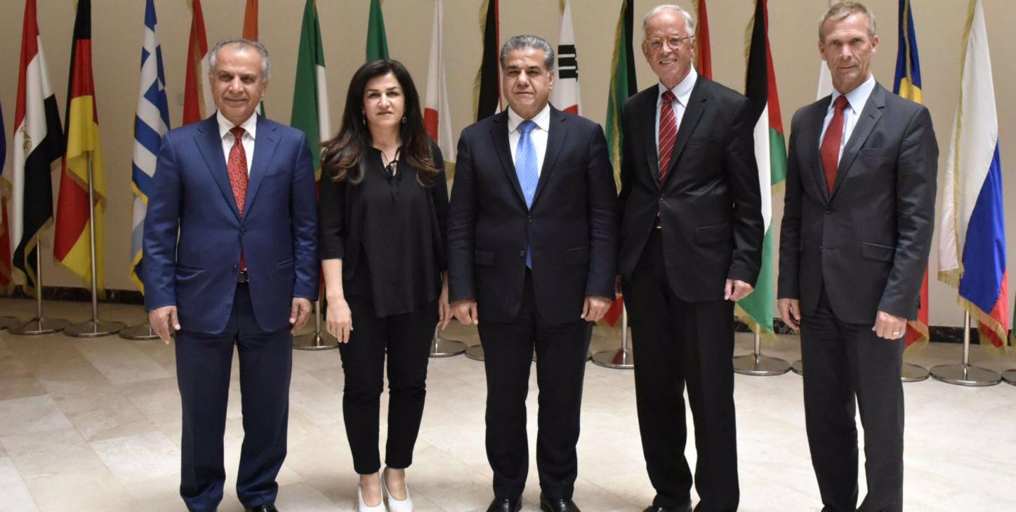 Ehemaliger österreichischer Verteidigungsminister besucht Kurdistan