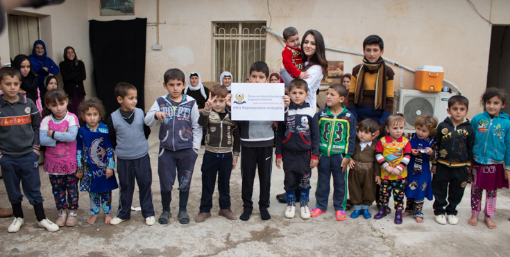 5 years KRG Austria – Humanitarian: Projects, donation campaigns, concerts